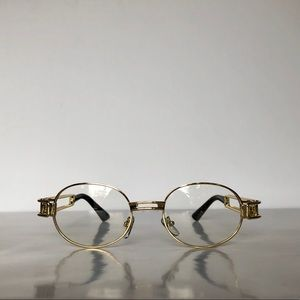 6749ad9734 Accessories - Vintage Oval Frame Unisex Clear Lens Glasses